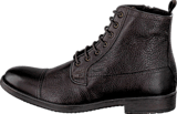 Geox - U Jaylon B - Tumb.Lea Dark Brown