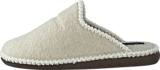 Hush Puppies - Felt Slipper OFFWHITE