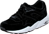Puma - R698 Allover Suede Black