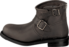 PrimeBoots - Engineer Zip Low Dark Grey Nikel
