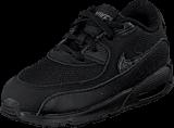 Nike - Nike Air Max 90 Mesh (Td) Black/Black-Cool Grey