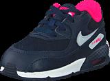Nike - Nike Air Max 90 Mesh (Td) Obsdn/Pr Pltnm-Hypr Pnk-White