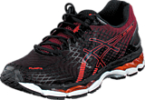 Asics - Gel-Nimbus 17 Black/Hot Orange/Deep Ruby