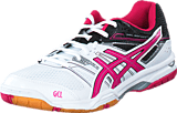 Asics - Gel Rocket 7 White/Magenta/Black