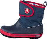 Crocs - Crocband II.5 Gust Boot Kids Navy/Red
