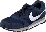 Nike - Nike MD Runner 2 Midnight Navy/White-Wolf Grey