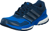 adidas Sport Performance - Response Boost 2 Techfit J Shock Blue/White/Mineral Blue