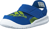adidas Sport Performance - Flexzee I Blue/Semi Solar Slime/White