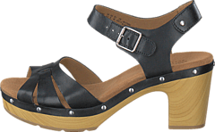 Clarks - Ledella Trail Black Leather