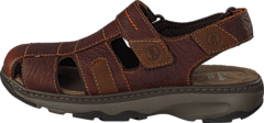 Clarks - Raffe Bay Brown Leather