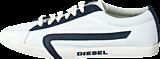 Diesel - Bikkren Canvas White/ Blue Night