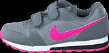 Nike - Nike Md Runner 2 (Psv) Cool Grey/Hyper Pink-Black