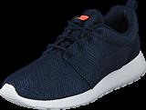 Nike - Wmns Nike Roshe One Moire Obsidian/Obsdn-White-Brght Mng