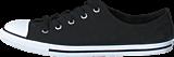 Converse - All Star Dainty-Ox Black/White/Black