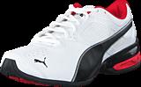 Puma - Tazon 6 White-Black-Puma Silver