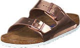 Birkenstock - Arizona Smooth Leather Metallic Copper