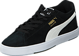 Puma - Suede S Black-White