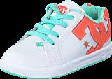 DC Shoes - Dc Court Graffik Elastic White/Turquoise