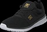 DC Shoes - Dc Heathrow Se J Shoe Black/Gold