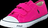 Ralph Lauren Junior - Daymond Ez Kids Regatta Pink Canvas - Navy