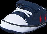 Ralph Lauren Junior - Kody Layette Navy Canvas - Red