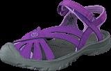 Keen - Rose Sandal-Jr Purple Heart/Gargoyle