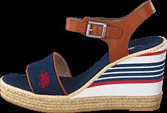 U.S. Polo Assn - Nymphea Dark Blue/Tan