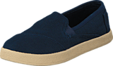 Toms - Avlon Slip-On Jr Navy