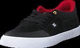 DC Shoes - Wes Kramer Black/ Athletic Red/ White