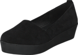 Bianco - Suede Loafer Flatform JJA16 Black