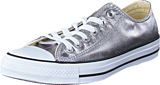 Converse - All Star Metallics-Ox Gunmetal/White/Black
