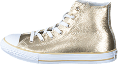 Converse - All Star Metallic-Hi Light Gold/White/White