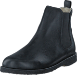 Angulus - Chelsea boot with wool lining Black/Black