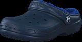 Crocs - Classic Lined Clog K Navy/Cerulean Blue