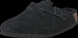 Birkenstock - Boston Regular 259881 Black Fur