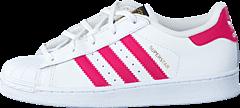 adidas Originals - Superstar Foundation C Ftwr White/Bold Pink/White
