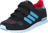 adidas Originals - Zx 700 Cf C Utility Black/Vapourblue/White