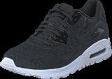 Nike - W Air Max 90 Ultra Plush Black/Black-White