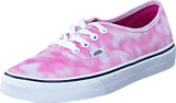 Vans - U Authentic (Tie Dye) Rose 24