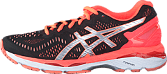 Asics - Gel Kayano 23 Black / Silver / Flash Coral