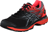 Asics - Gel Cumulus 18 Gtx Black / Silver / Flash Coral