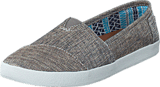 Toms - Wm Ava Slipon Pewter Metalic Linen