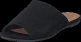 Bianco - Suede Slip In AMJ17 10 Black