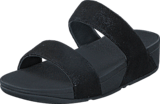 Fitflop - Shimmy Suede Slide Black Glimmer