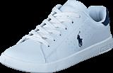 Ralph Lauren Junior - Bilton White- Navy Leather