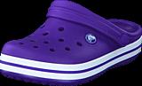Crocs - Crocband Clog Kids Ultraviolet/White