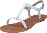 Clarks - Voyage Hop White Leather