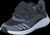 adidas Sport Performance - Fortarun Cf K Core Black/Silver Met./Onix