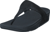 Fitflop - Shimmy Suede TP Black Glimmer