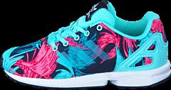 best website 60f99 817e5 Previous adidas Originals - Zx Flux C Energy Aqua F17 Energy Aqua F1 ...